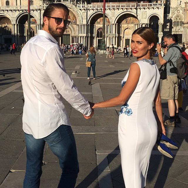 Виктория Боня и ее гражданский муж Алекс Смерфит