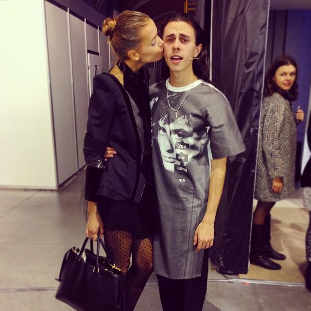 Ukranian Fashion Week: Jean Gritsfeldt представил новую коллекцию Hollywood is Dead
