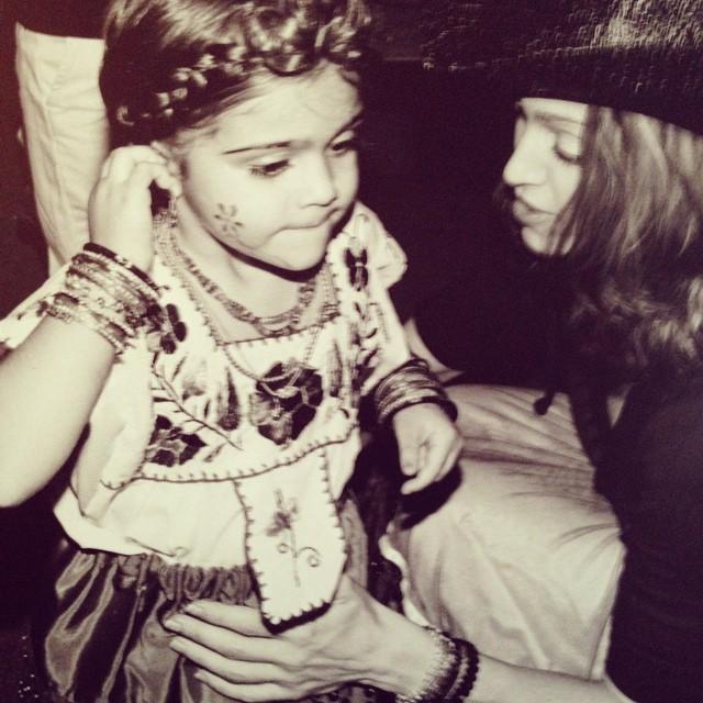 Мадонна поздравила свою дочь с днем рождения
