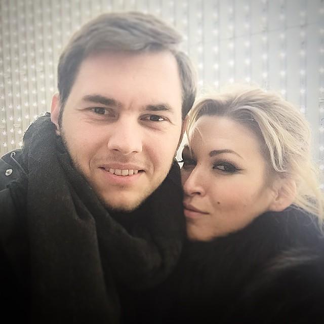 Ирина Дубцова и ее бойфренд Леонид Руденко