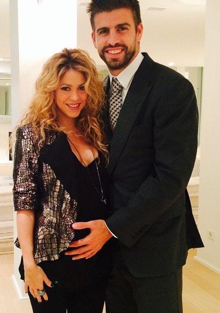 Шакира поделилась с поклонниками романтичным фото с Жераром Пике