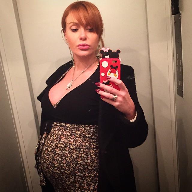 беременная Слава из группы НеАнгелы
