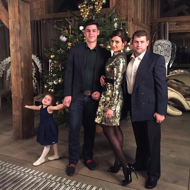 Жасмин, ее муж Илан Шор и дети - сын Михаил и дочь Маргарита