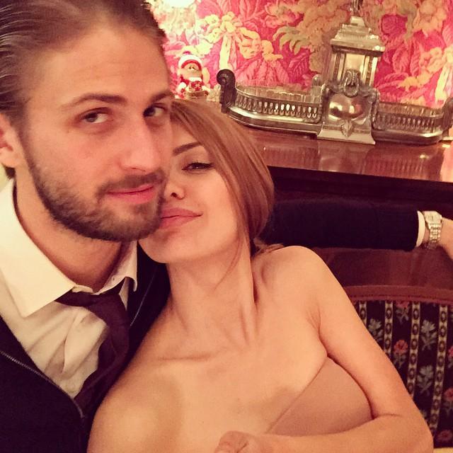 Виктория Боня и ее муж