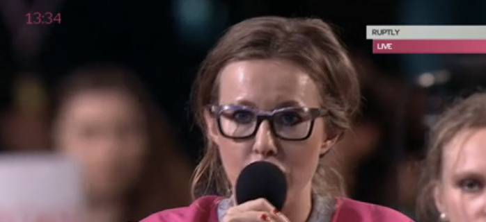 Вопрос в лоб: Ксения Собчак спросила у Путина о межнациональной ненависти