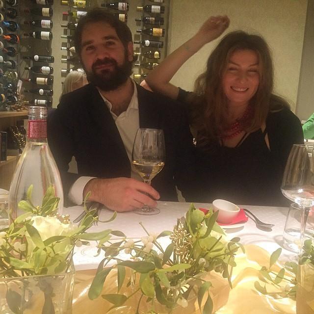Алан Бадоев Новый год встретил с эк-женой Жанной и ее возлюбленным