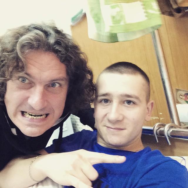 За месяц до смерти Кузьма Скрябин встретился с военными из зоны АТО