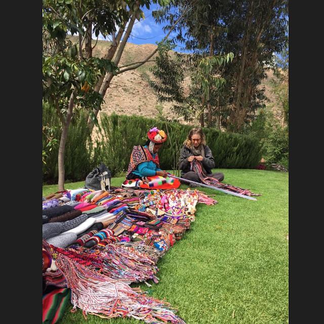 Ксения Собчак и Максим Виторган путешествуют по Перу