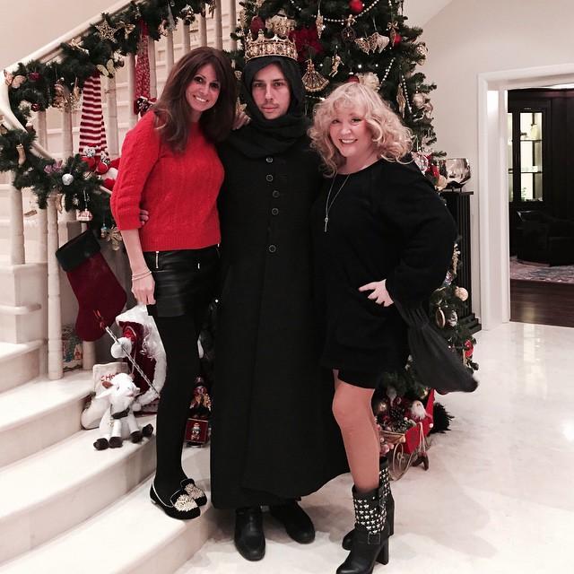 новогодние праздники Алла Пугачева и Максим Галкин отметили в кругу семьи и друзей