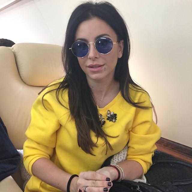 Ани Лорак примерила стильные очки Григория Лепса