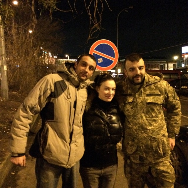 "Приходько провела бойцов батальона ""Айдар"" на фронт"