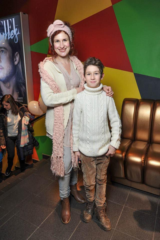 Ольга Шурова с сыном Львом