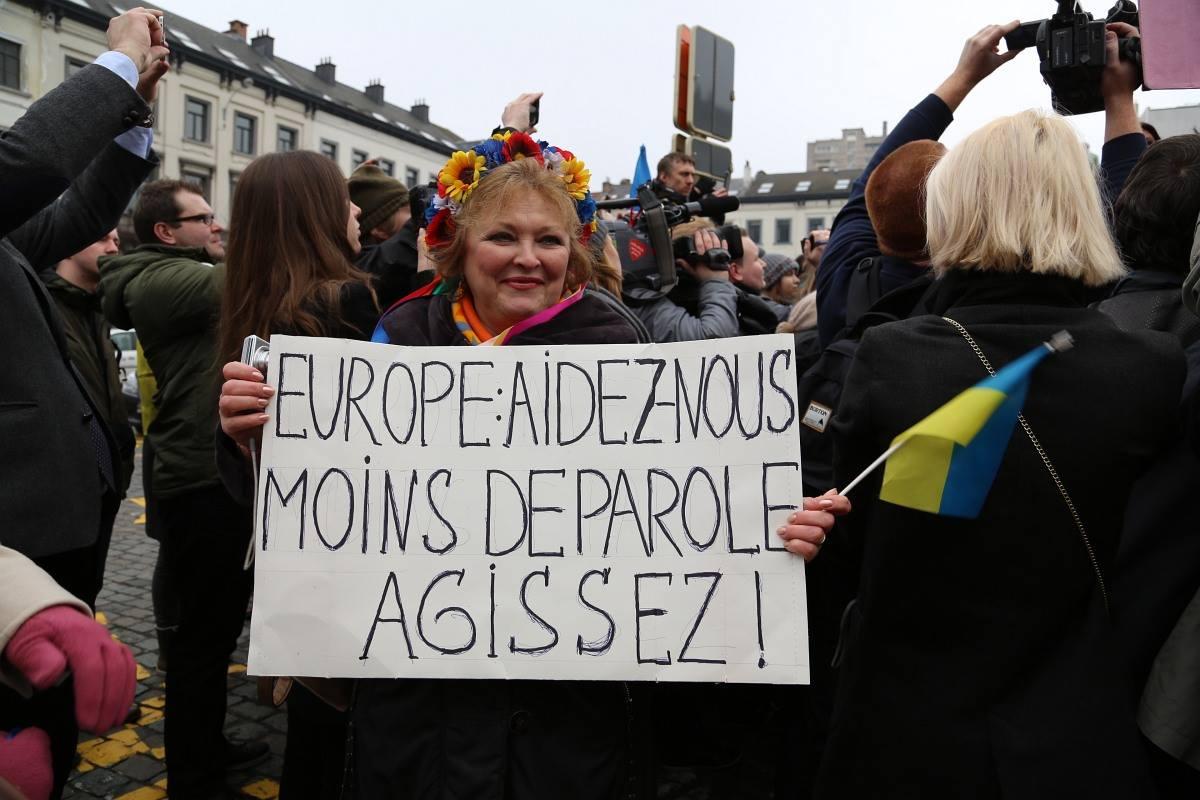 Руслана Евромайдан Брюссель фото 2014