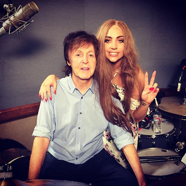 Леди Гага начала сотрудничать с Полом Маккартни