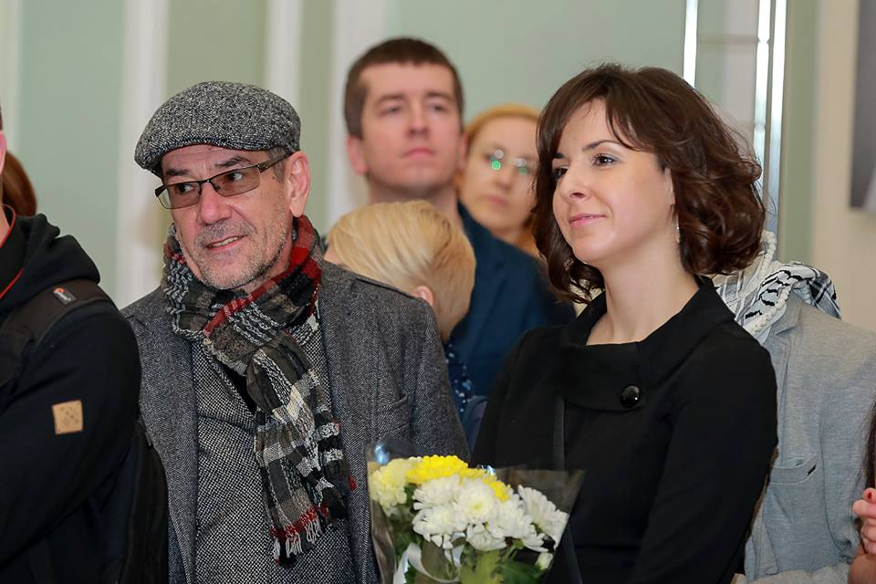 Алексей Горбунов и Елена Блажко