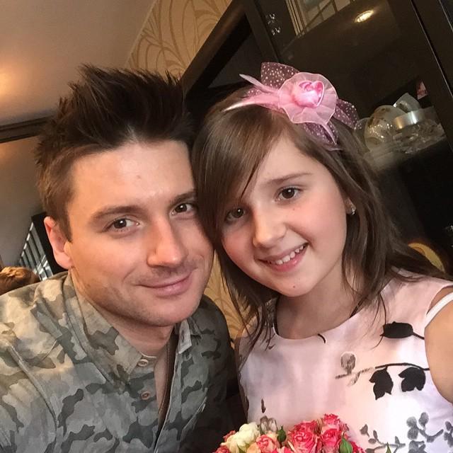 Сергей Лазарев и его племянница