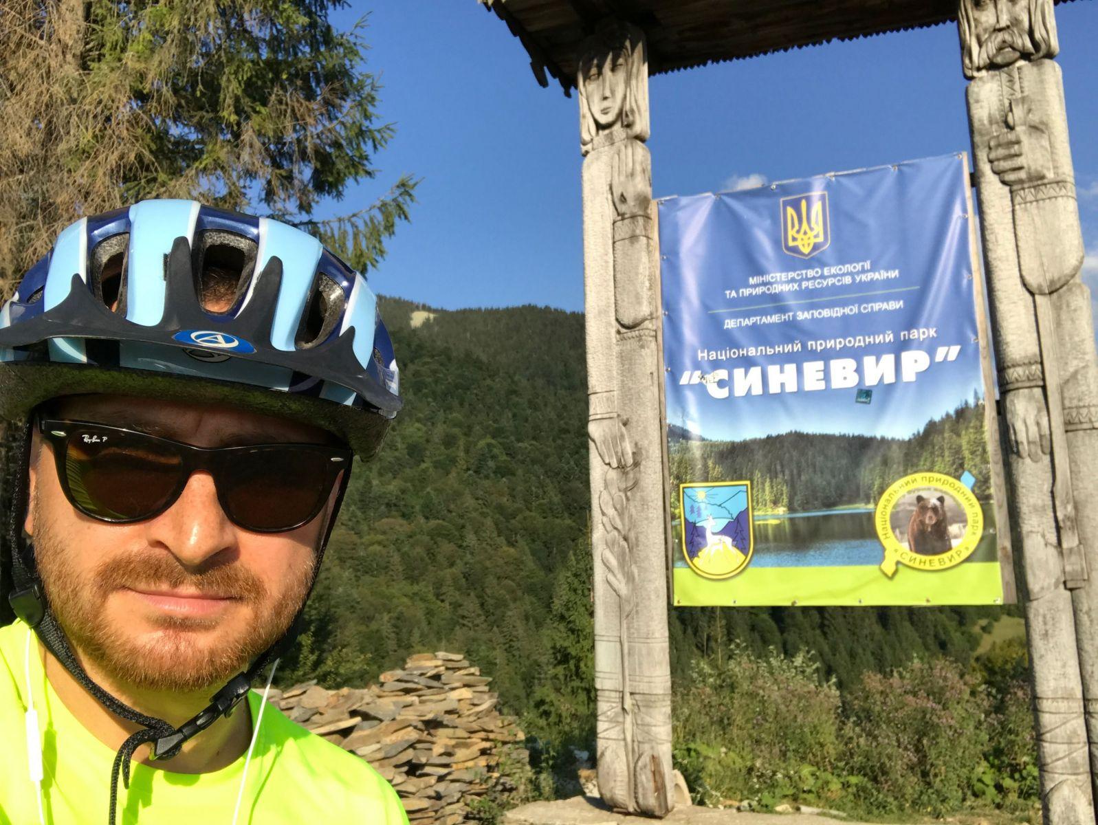 Олег Собчук в Карпатах