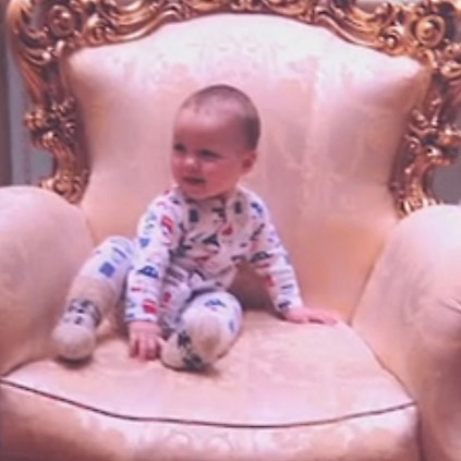 первый ребенок Павла и Алины Буре
