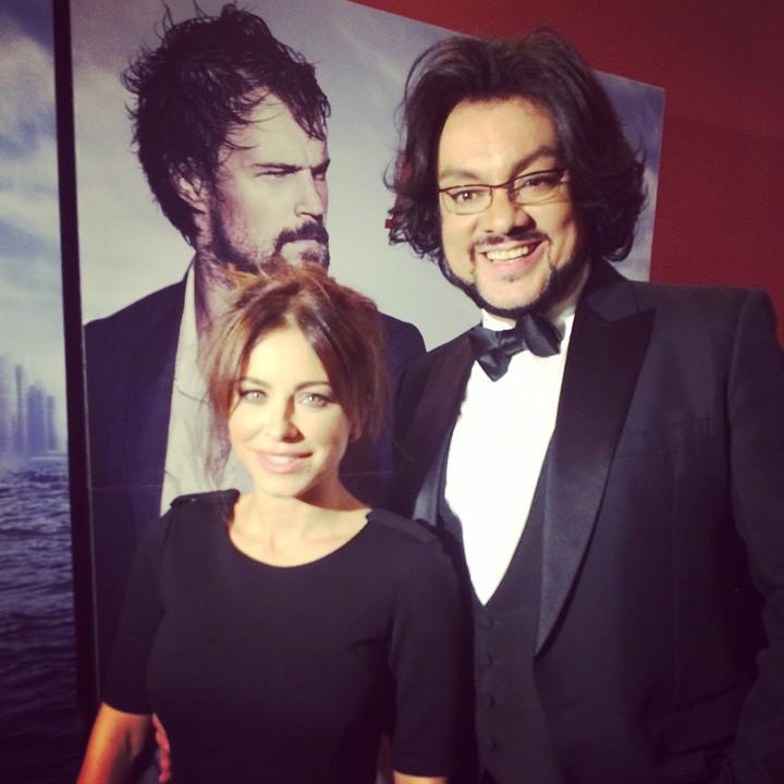 Ани Лорак побывала в Москве на премьере Духлесс-2