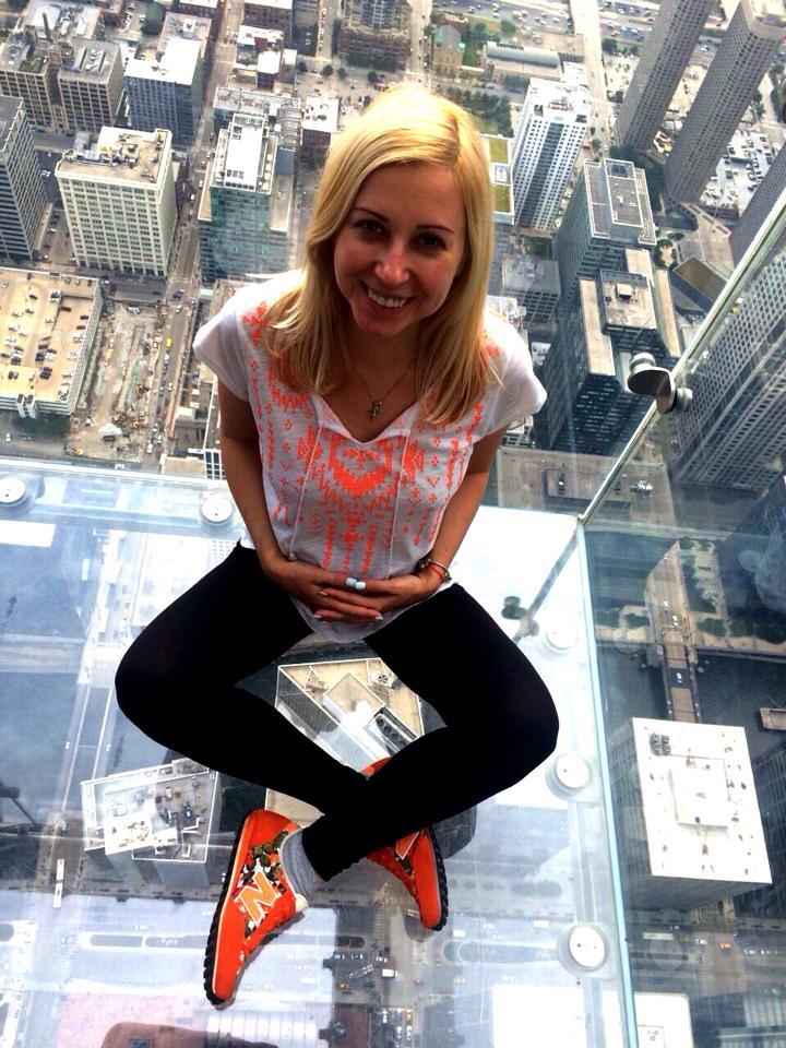 Тоня Матвиенко улетела в США
