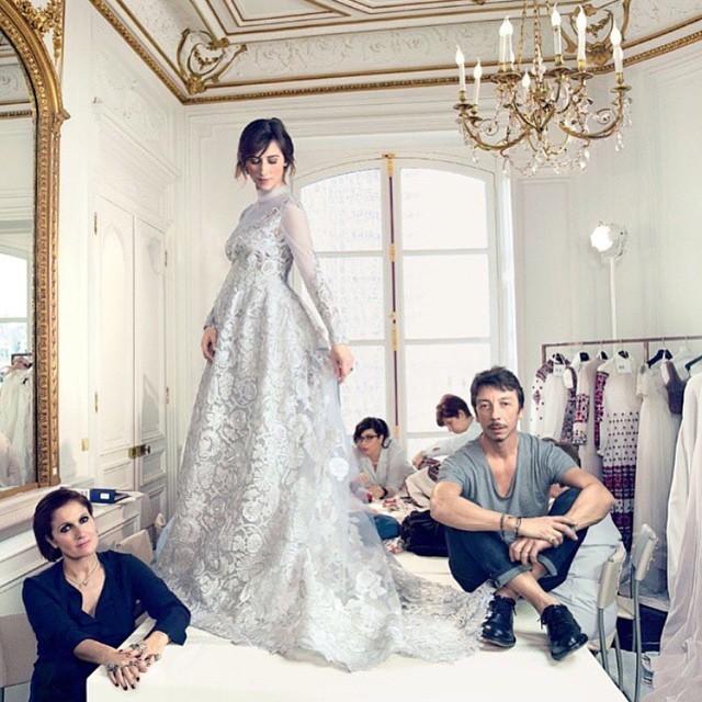 Стало известно, в каком платье пошла к алтарю невеста Бенедикта Камбербэтча
