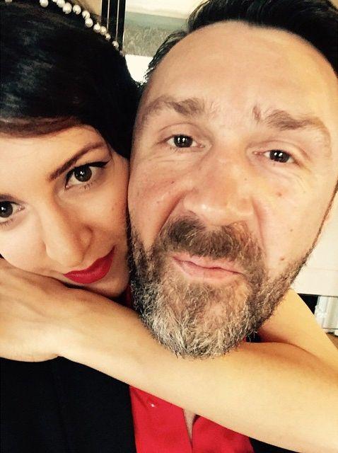 Сергей Шнуров показал красотку-жену