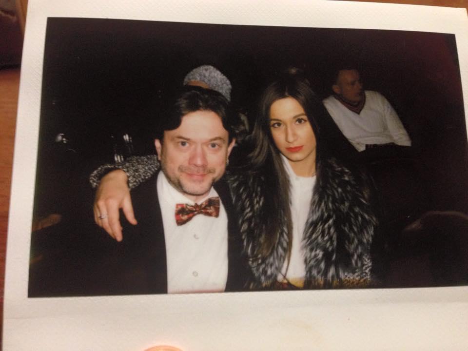 Остап Ступка и его новая жена
