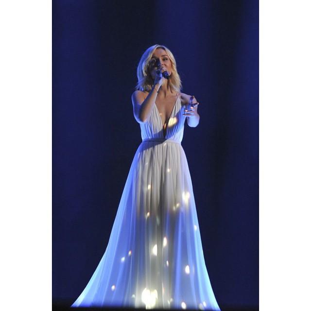 Евровидение 2015: Полина Гагарина высказалась по поводу своего скандального платья