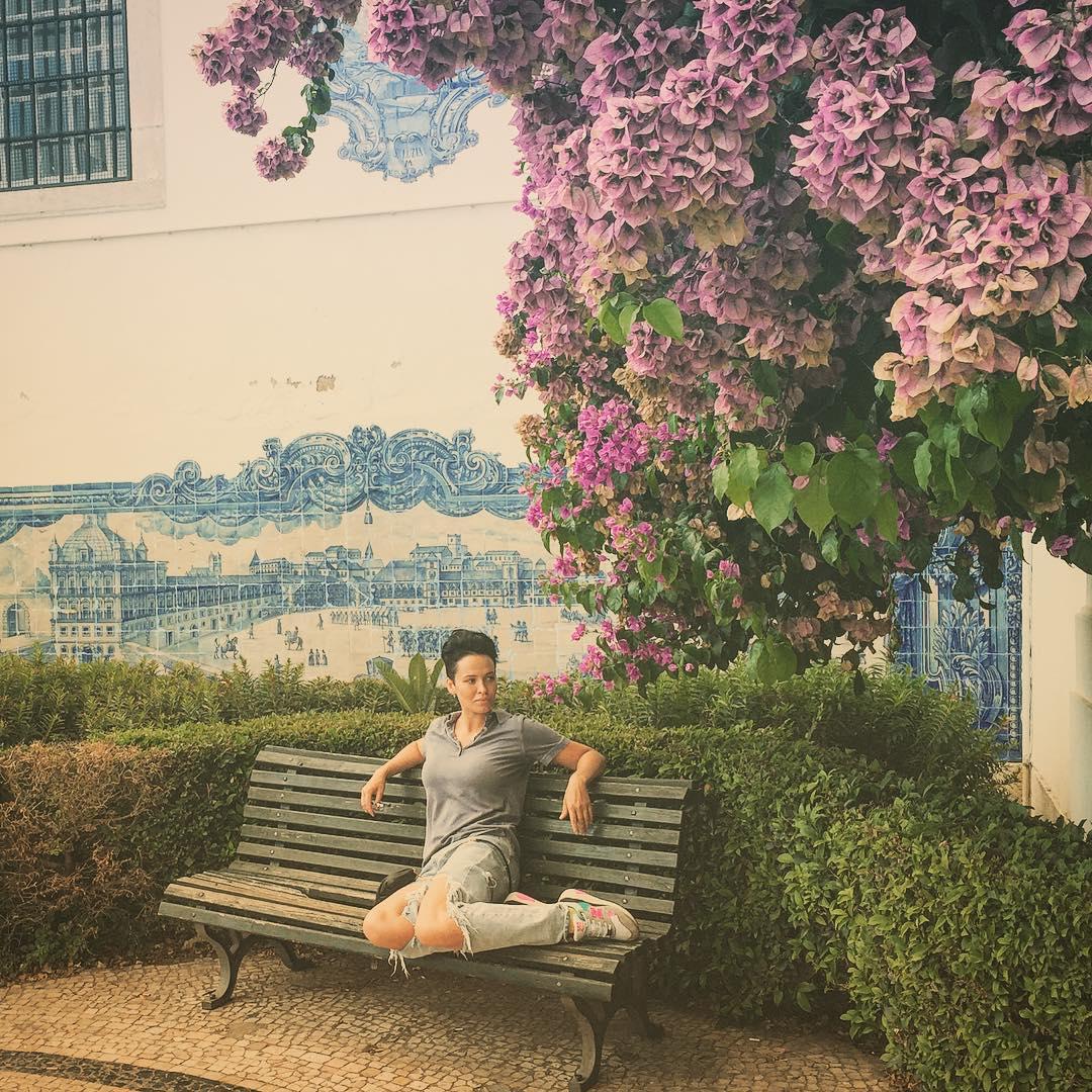 Астафьева отдыхает в Португалии