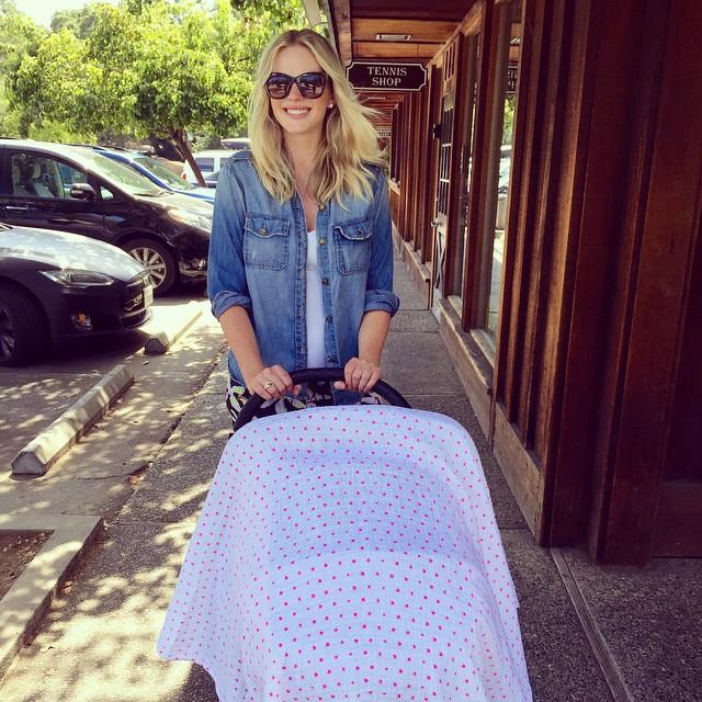Супермодель Анна Вьялицына впервые стала мамой