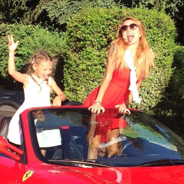 МакЅим с старшей дочерью Сашей