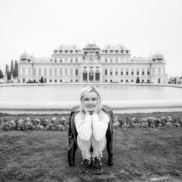 Полина Гагарина после Евровидения 2015 в Вене