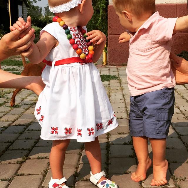 Наталья Добрынская показала подросшего сына