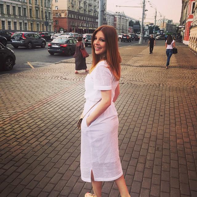 Наталья Подольская после родов