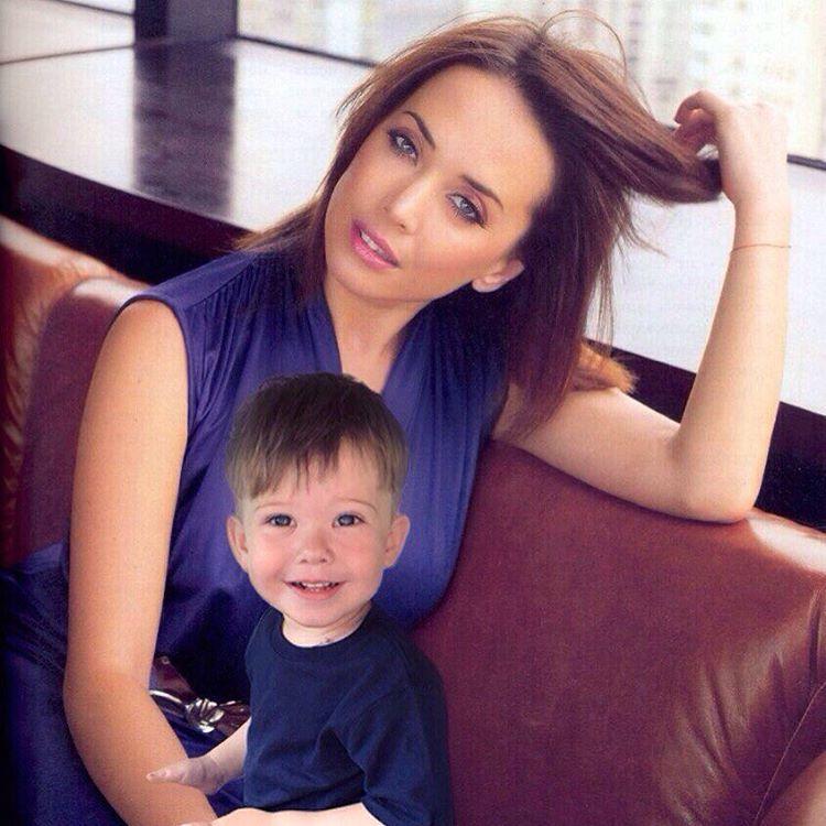 Новые фото 3-летнего сына Жанны Фриске