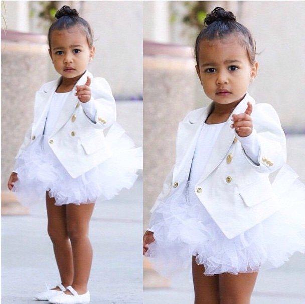 Ким Кардашьян наняла персонального фитнес-тренера для двухлетней дочери