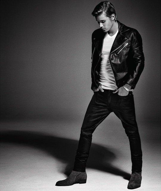 Харизматичный Джастин Бибер блистает на страницах Vogue