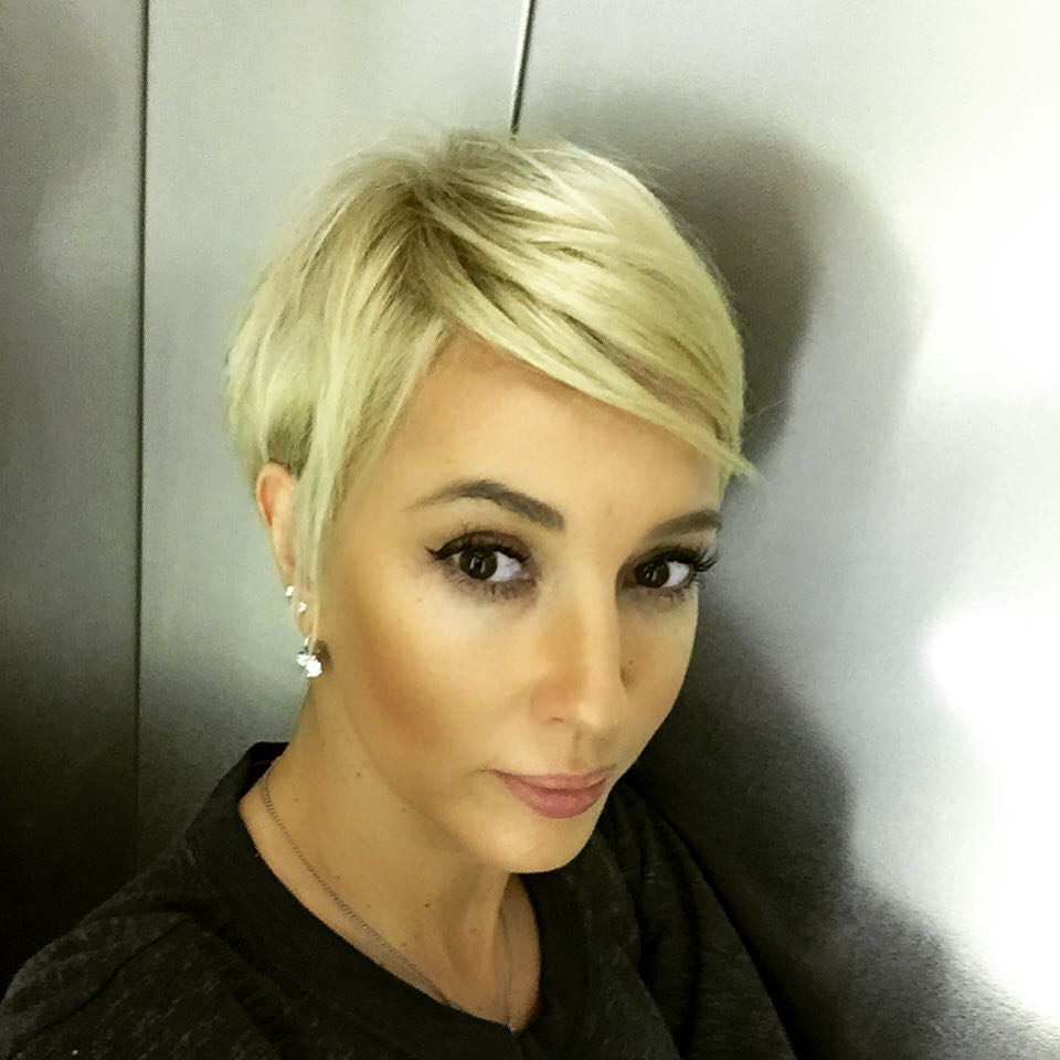 Лера Кудрявцева с новой стрижкой