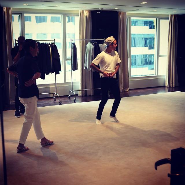 Джастин Бибер запустит собственную линию одежды