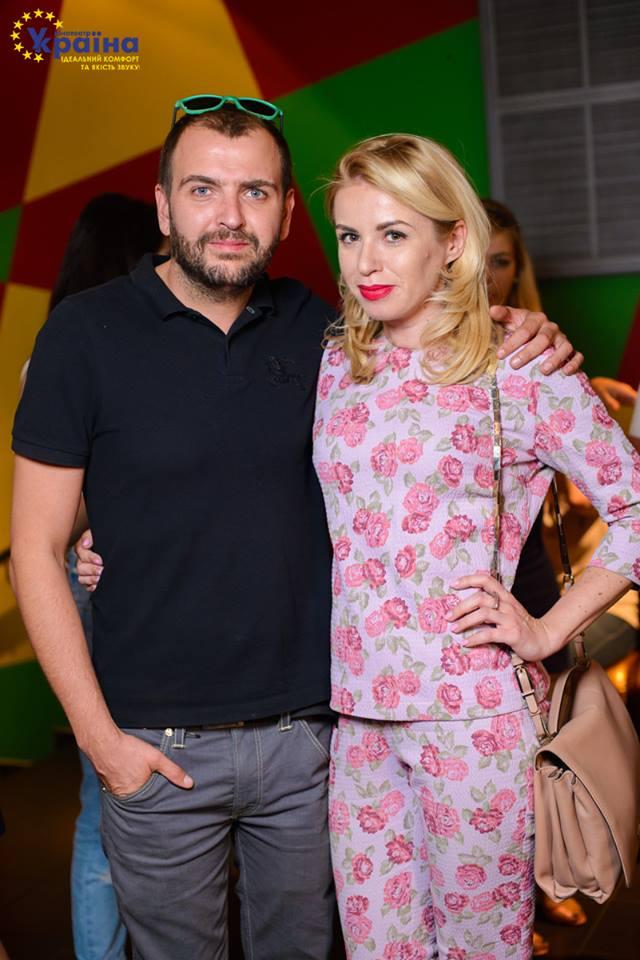 Елена Бурба с мужем Артемом