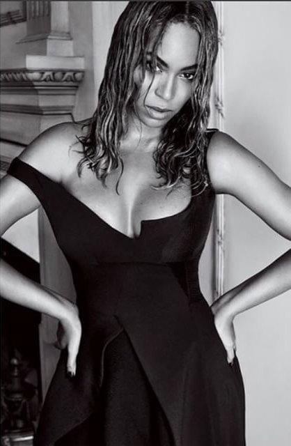 Постройневшая и сексуальная Бейонсе блистает на страницах Vogue