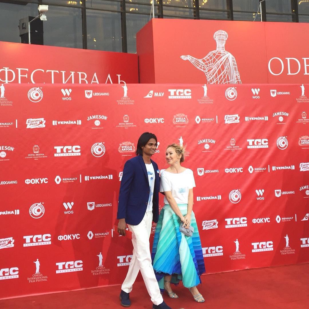 Ксения Бугримова и ее муж: первый выход в свет