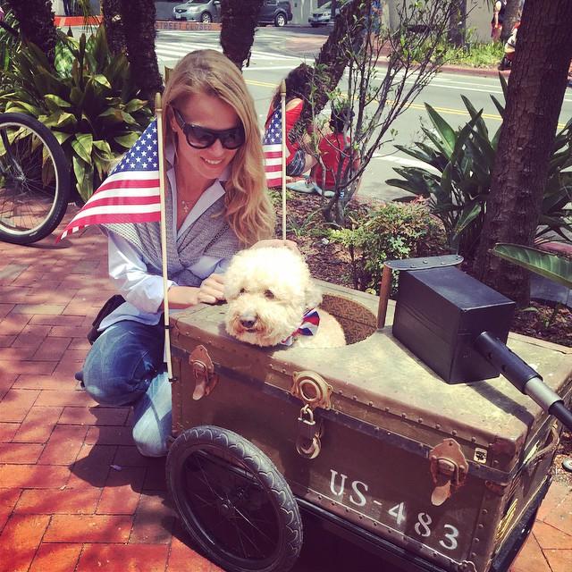 Ольга Фреймут отдыхает в Америке