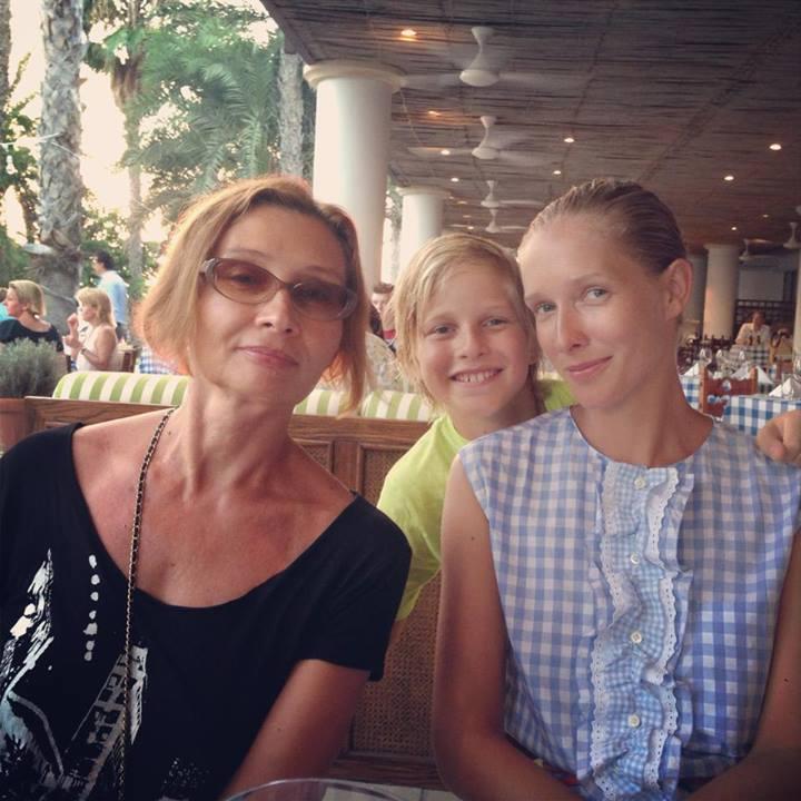 Катя Осадчая мама сын фото