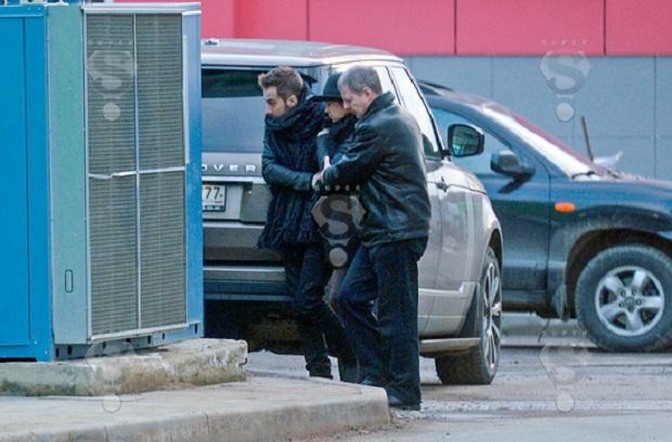 Жанна Фриске и ее муж Дмитрий Шепелев в Москве попали под прицел папарацци