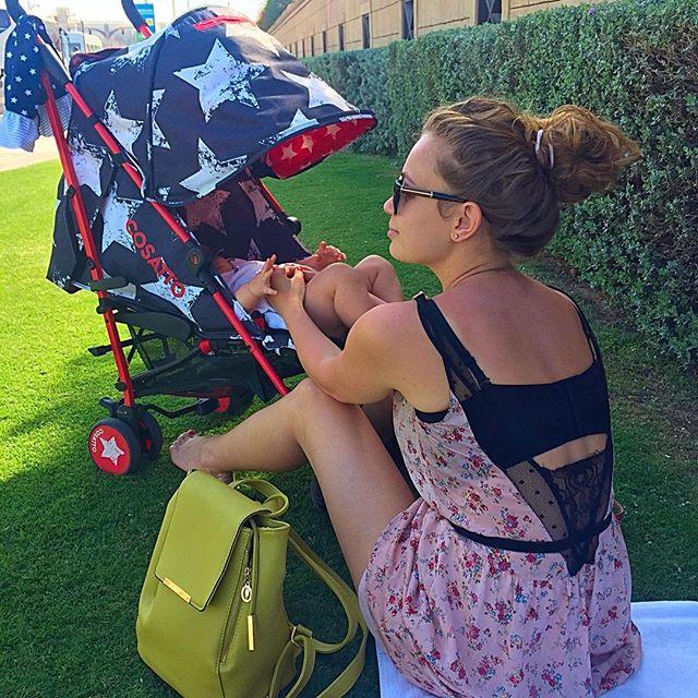 Яна Соломко показала маленькую дочь