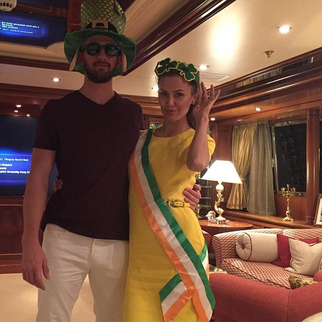 Виктория Боня отдыхает вместе с возлюбленным-миллионером и дочерью на Карибском море
