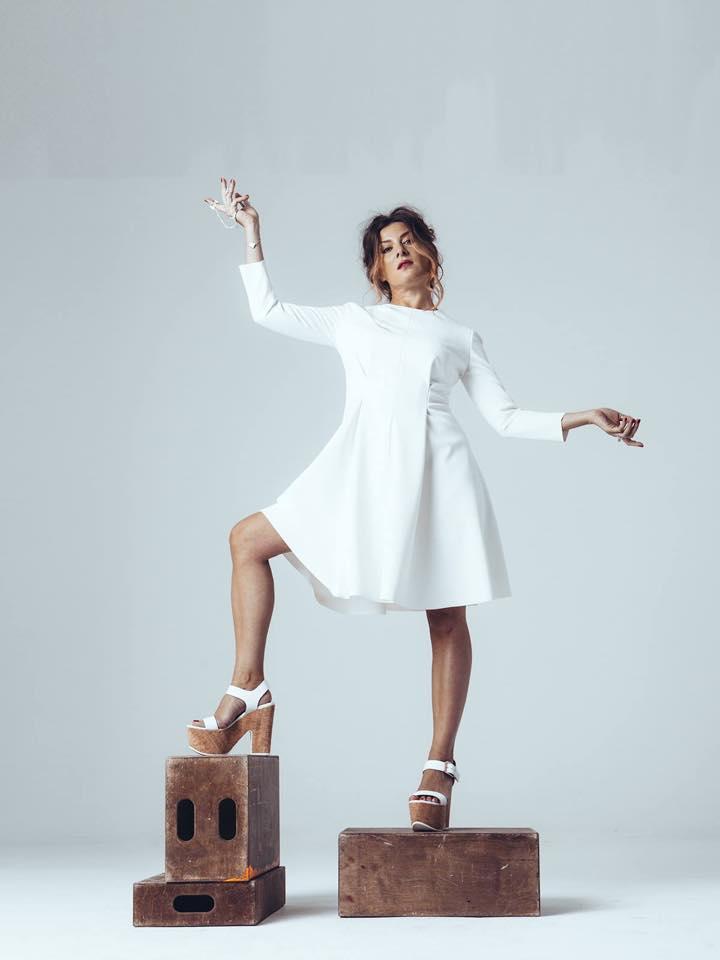 Жанна Бадоева снялась в фотосессии для российского журнала