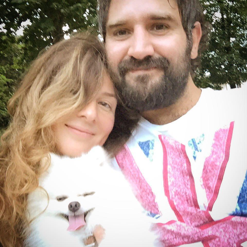 Жанна Бадоева и ее муж Василий Мельничин