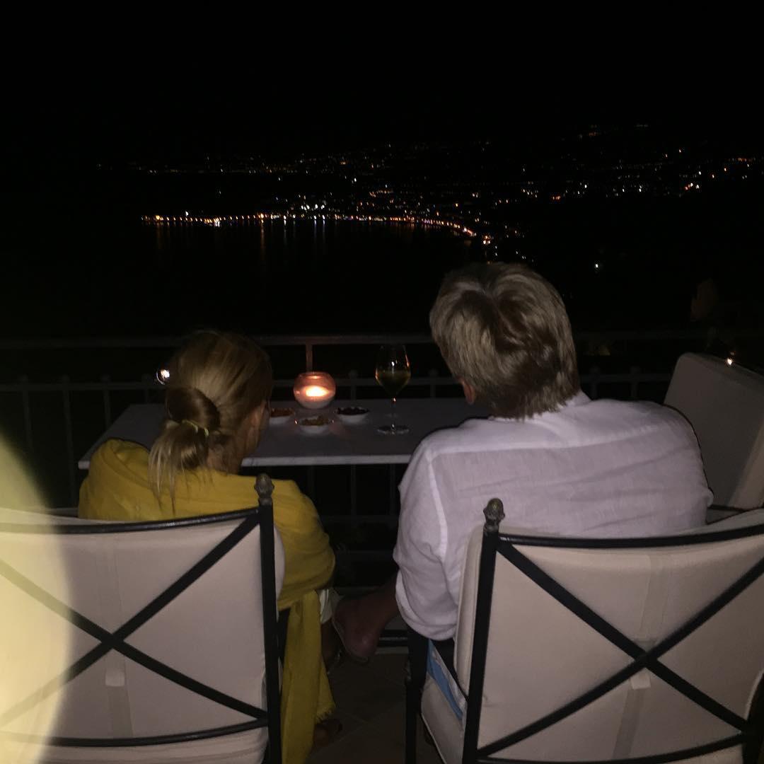 Татьяна Навка и Дмитрий Песков на медовом месяце